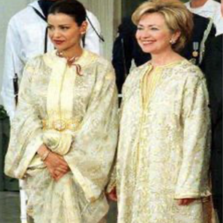 Hillary-Clinton-in-Moroccan-Kaftan-Morocco-Travel-Blog