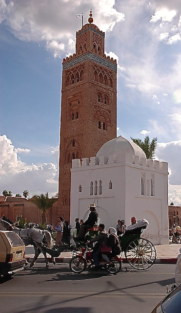 marrakech s koutoubia mosque and tomb of lalla zohra. Black Bedroom Furniture Sets. Home Design Ideas