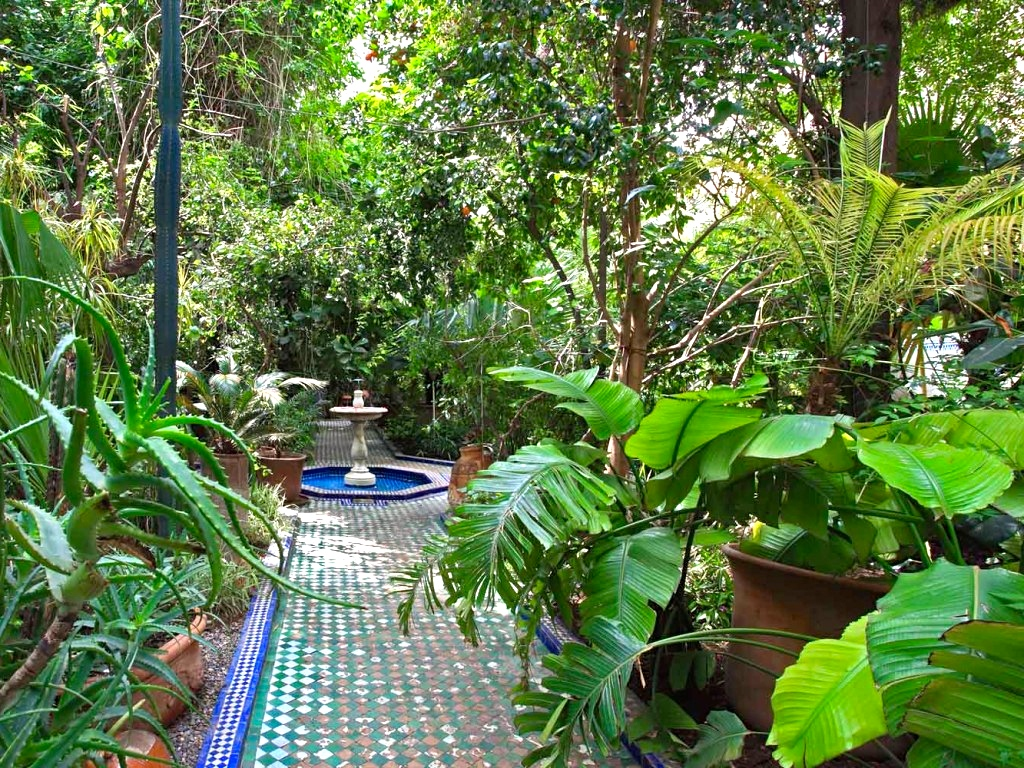 5 fabulous courtyard gardens in marrakech morocco travel for Garden design york uk