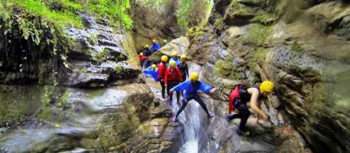 Canyoning in the Ourika Valley, Family Tour Ideas