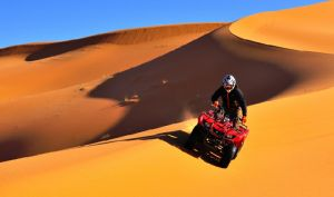 Morocco Family Tour, Quad Biking