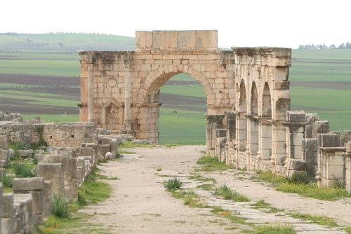 Travel the Roman Ruins of Volubilis in Ancient Morocco