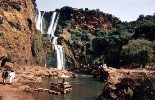Travel Morocco's Historic Kasbahs and Majestic Waterfalls