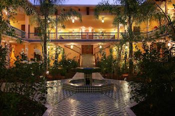 Best Boutique Riad Courtyard Garden, Marrakech