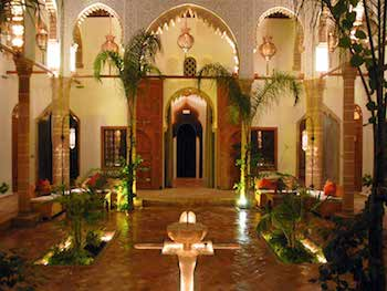 Moroccan Riad, Where to Stay