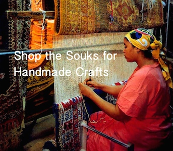Hand made Crafts, Shop the Souks in Morocco