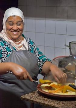 Marrakech, Family Food Tour, Woman Making