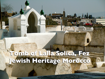 Tomb of Solica, Fes Jewish Cemetery
