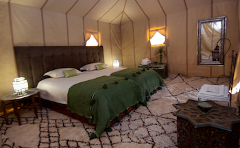 Honeymoon in the Moroccan Sahara, Luxury Desert Camp