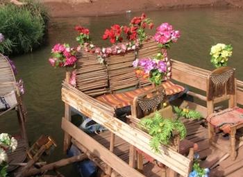Boat Ride, Ouzoud Waterfalls