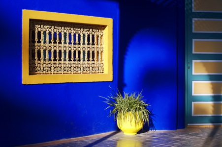 1 Travel To Marrakech S Majorelle Gardens Created By French Painter Jacque And Maintained Former Fashion Designer Yves Saint Lau Until