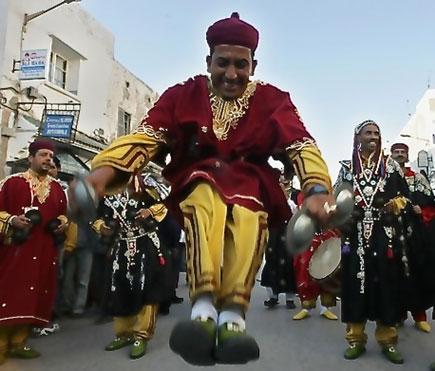 Gnaoua Festival Musicians, Essaouira