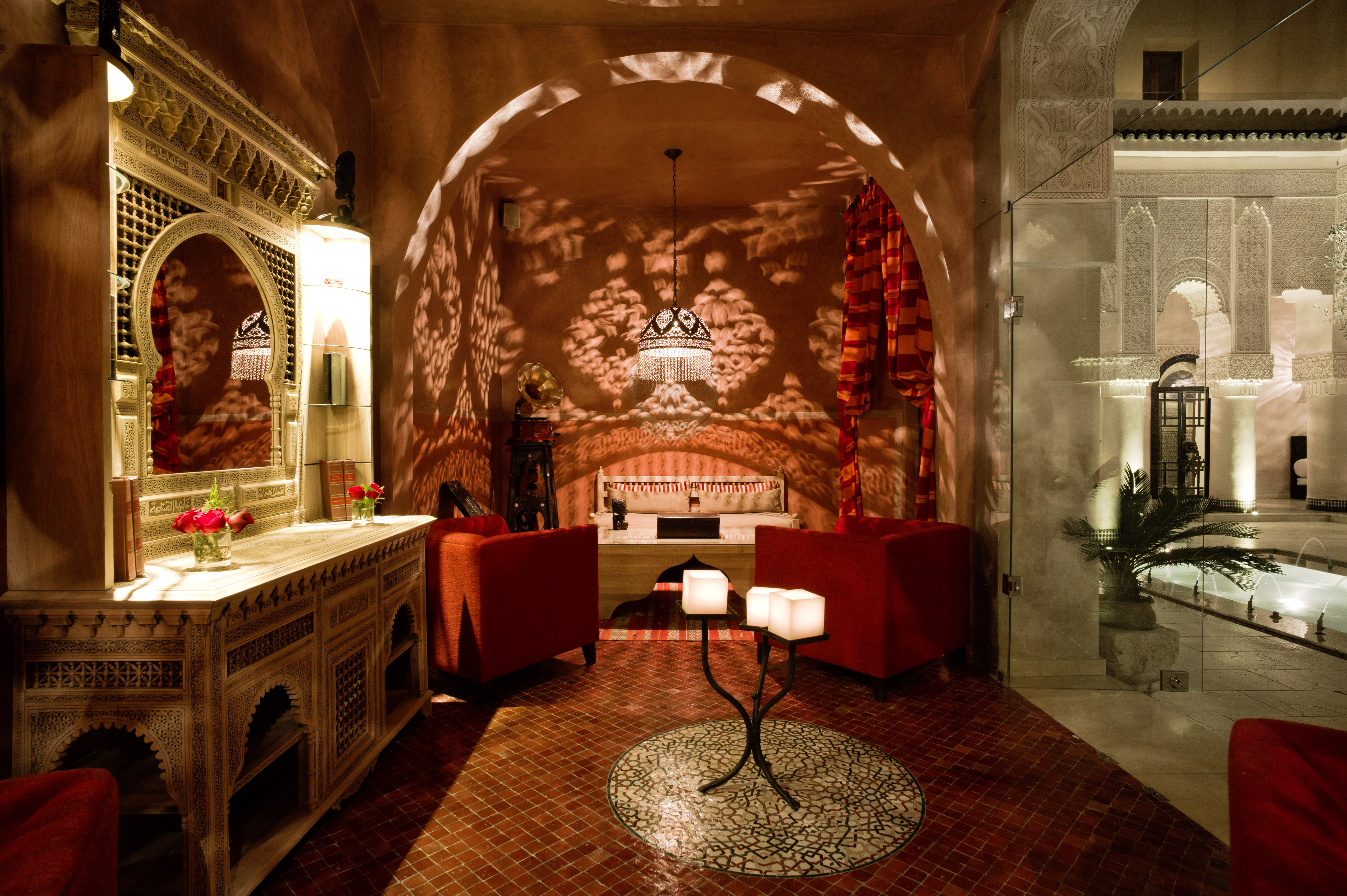 Luxury hotels of morocco your morocco tour guide for Places to get room decor