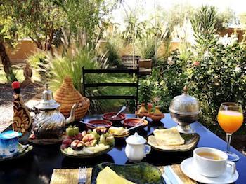 Moroccan Eco Lodge, Organic Cuisine