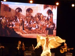 Photograph - Lynn Sheppard -  Jalal Chekara and Chekara Flamenca, Essaouira Atlantic Andalucia Festival