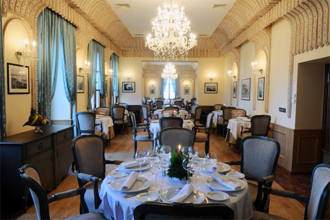 Grand Hotel Villa De France Dining Room
