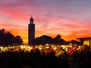 Djemaa El Fna at night