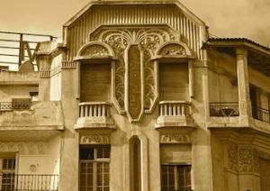 Art Deco Facade, Casablanca