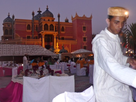 Marrakech Travel Agency, An Evening At  The Chez Ali Fantasia Show in the Marrakech Palmary, Your Morocco Travel Guide.