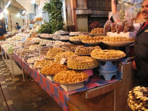 Moroccan Sweets and Pastries