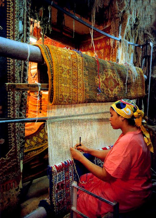 Berber Carpet Weaving Traditions of Morocco