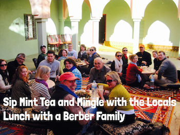 Sip Mint Tea & Lunch with a Berber Family