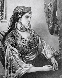 Jewish, Moroccan Woman