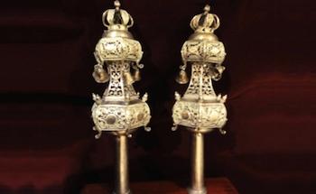 Tora Ornaments, Jewish Museum Casablanca